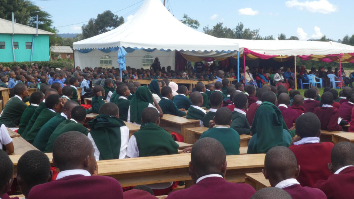 Opening Ceremony for new Dormitory in Dongobesh