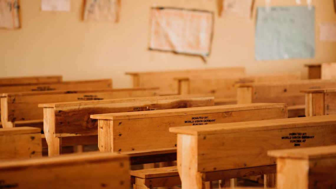 New desks for Karama Primary School in Tanzania