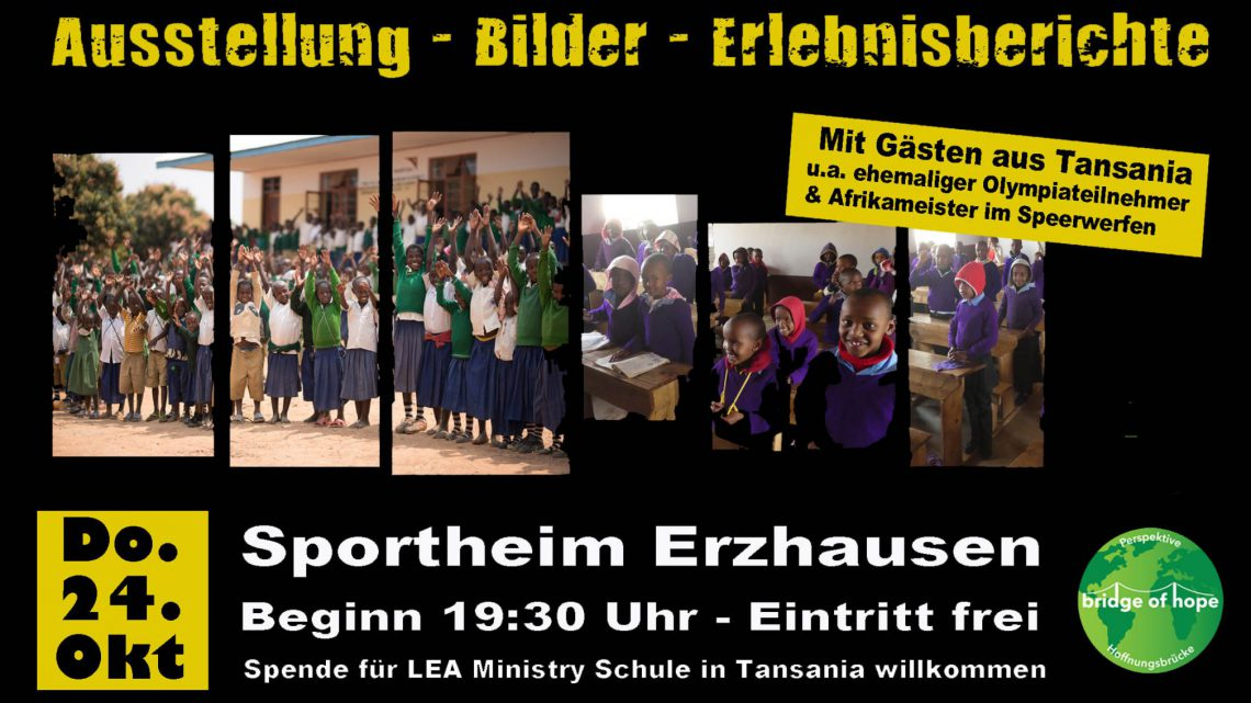 Tanzania evening in Erzhausen